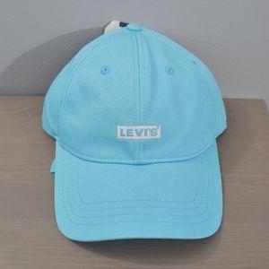 NWT LEVI'S Blue 100% cotton hat